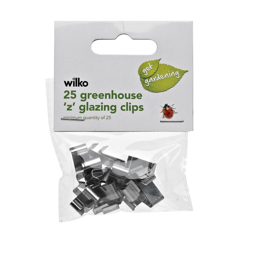 Wilko Garden Z Glazing Clips - normally £1.50 now 0.10 (in-store Rugby)