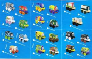 Thomas Minis 2019 Wave 3 collection 99p Each @ Home Bargains