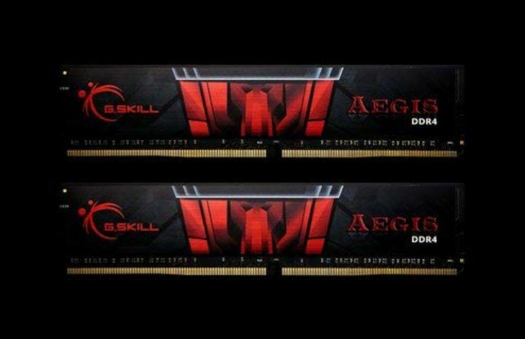 G.Skill AEGIS F4-3000C16D-16GISB Memory 16GB DDR4 (2x8GB) - £48.89 @ Amazon DE