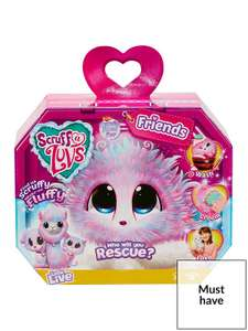 Scruff-A-Luvs Rescue Pet Surprise Soft Toy - Candy Floss - £17.99 @ Very (Free Collection)