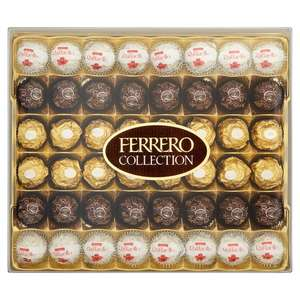£9.60 Ferrero Rocher Collection Box 48 Pieces 20% off @ Ocado