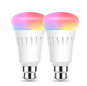 LOHAS Smart Bulbs 2 pack for £13.19 Prime / £16.18 non Prime Sold by LED-365BUY and Fulfilled by Amazon