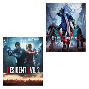 [Steam] Resident Evil 2 Remake / Devil May Cry 5 PC - £16.87 each @ Gamersgate