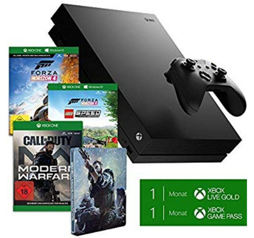 Xbox One X 1TB – Forza Horizon 4 LEGO Speed Champions Bundle + Call of Duty: Modern Warfare - [Xbox One] + Steelbook