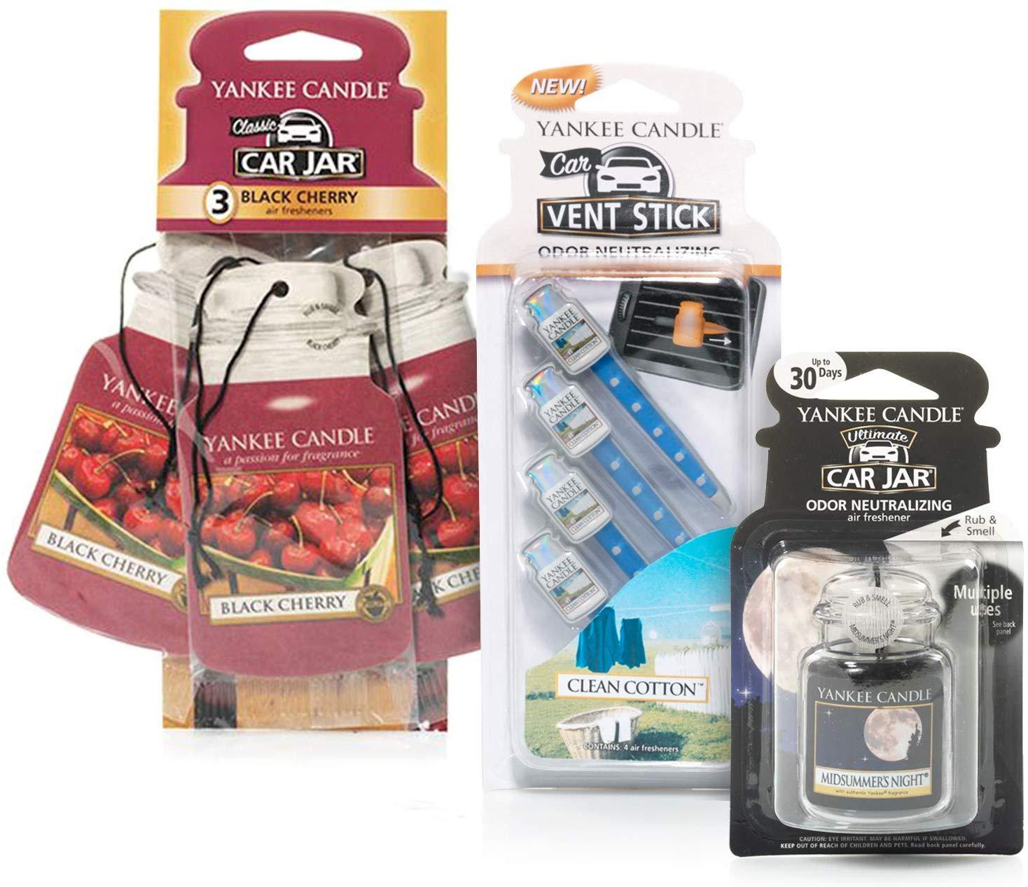 Yankee Candle Air Freshener Bundle (8pcs) £11.20 at Amazon Prime / £15.69 Non Prime