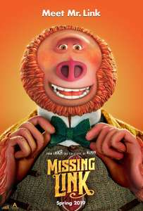 Missing Link 4K HDR Dolby Atmos £5.99 at iTunes Store
