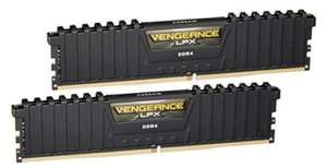Corsair CMK16GX4M2B3200C16 Vengeance LPX 16 GB (2 x 8 GB) DDR4 3200 MHz CL16 XMP 2.0 Memory Kit - Black £62.47 at Amazon Germany