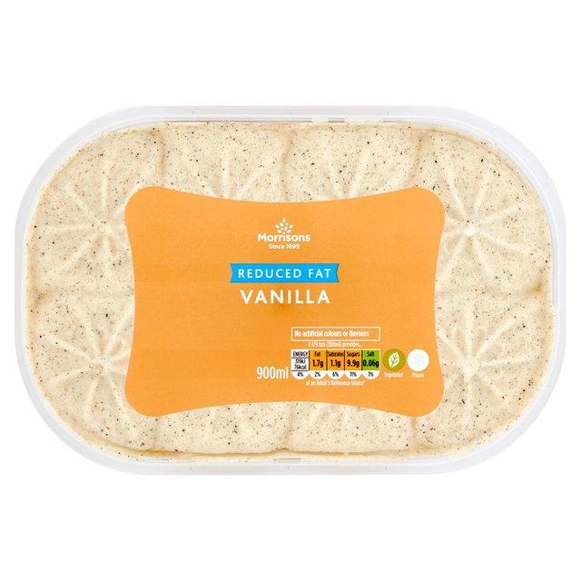 Morrisons Eat Smart Vanilla Ice Cream 900ml Half Price  £1 @ Morrisons
