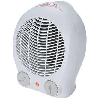 Screwfix Portable fan heater 2000w £9.99 at Screwfix