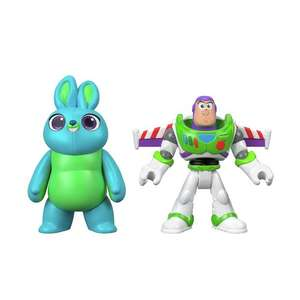 Disney Pixar Toy Story 4 Buzz Lightyear & Bunny - 2 Pack £5.90 @ Argos - (Free Click and Collect) Others available, more in the thread