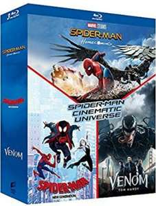 Cinematic Universe Homecoming + Spider-Man New Generation + Venom £16.36 at Amazon France