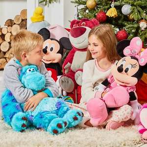 Large soft toys now £22.50 delivered using codes + Free personalisation @ Disney Shop