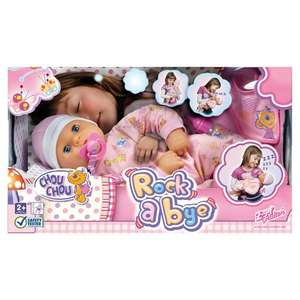 Rock A Bye Chou Chou Doll £25 @ Tesco