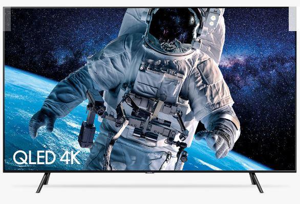 Samsung QE55Q70R (2019) QLED HDR 1000 4K Ultra HD Smart TV (+£200 vouchers) £874 at John Lewis & Partners