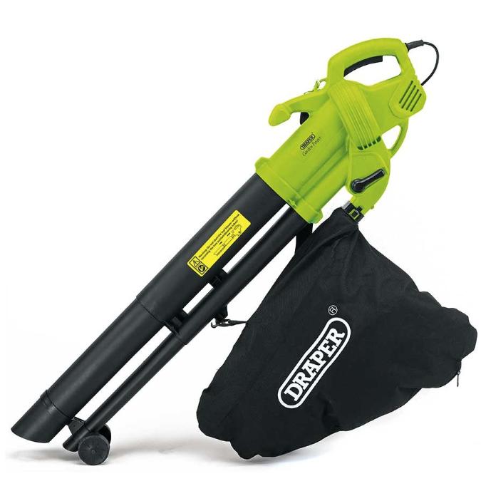 Draper 3000W 3-in-1 Garden Vacuum / Leaf Blower / Mulcher £29.74 Using Code - Free Click & Collect @ Robert Dyas