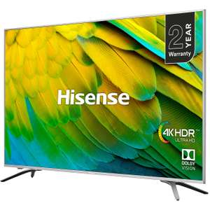 """Hisense H75B7510UK 75"""" Smart 4K Ultra HD TV with Dolby Vision and DTS Studio Sound + 2 Year Warranty £949 at AO"""