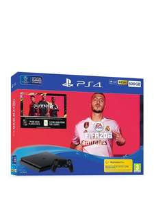 PS4 500GB FIFA 20 Bundle with Optional Extras (see below) £209.99 at Very