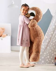 Giant Plush Brown or Silver Sloth / Unicorn / Bear £12.99 instore (Approx 3.2ft) @ ALDI