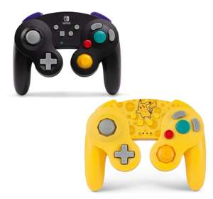 PowerA Wireless Officially Licensed Nintendo GameCube Style Controller/Super Smash Bros. Black/Pikachu for £29.99 Delivered @ Amazon UK