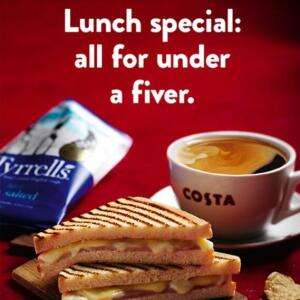 Lunch for £4.95 (Coffee, Main and Snack) at Costa