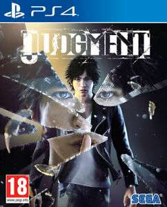 Judgement (PS4) for £25.46 delivered @ The Game Collection Outlet eBay