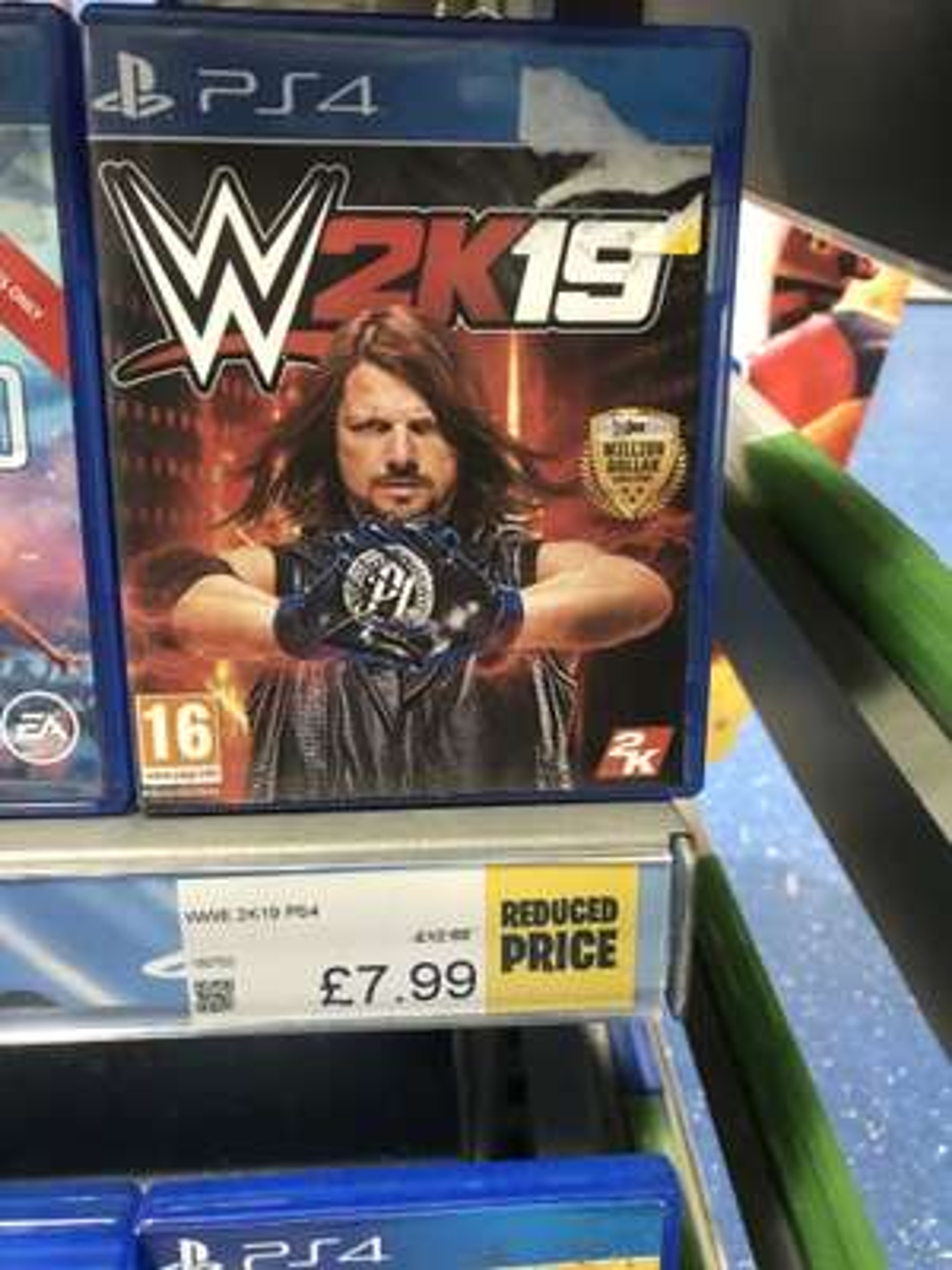 WWE 2K19 £7.99 @ Smyths Toys (Grimsby)