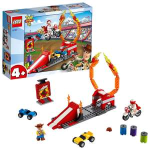 LEGO 10767 4+ Toy Story 4 Duke Caboom's Stunt Show with Woody Minifigure £10.66 Prime / £15.15 Non Prime at Amazon