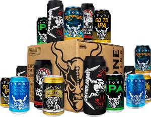 Extra £5 off Stone Brewing Case with Voucher code @ Beerwulf
