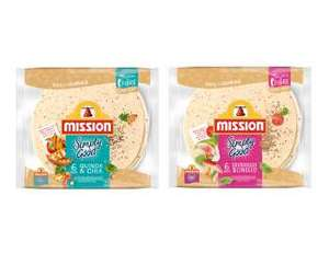 Mission Simply Good wraps 6pk £1 @ Tesco (Free after cashback from quidco)