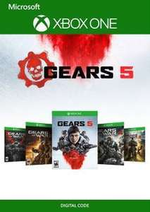 [Xbox One] Gears 1 - 5 Bundle - £24.99 @ CDKEYS
