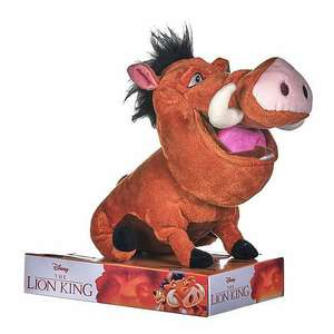 "Lion King Pumbaa ""Parping"" Toy £10.50 @ Dunelm In Store / Click & Collect Only"