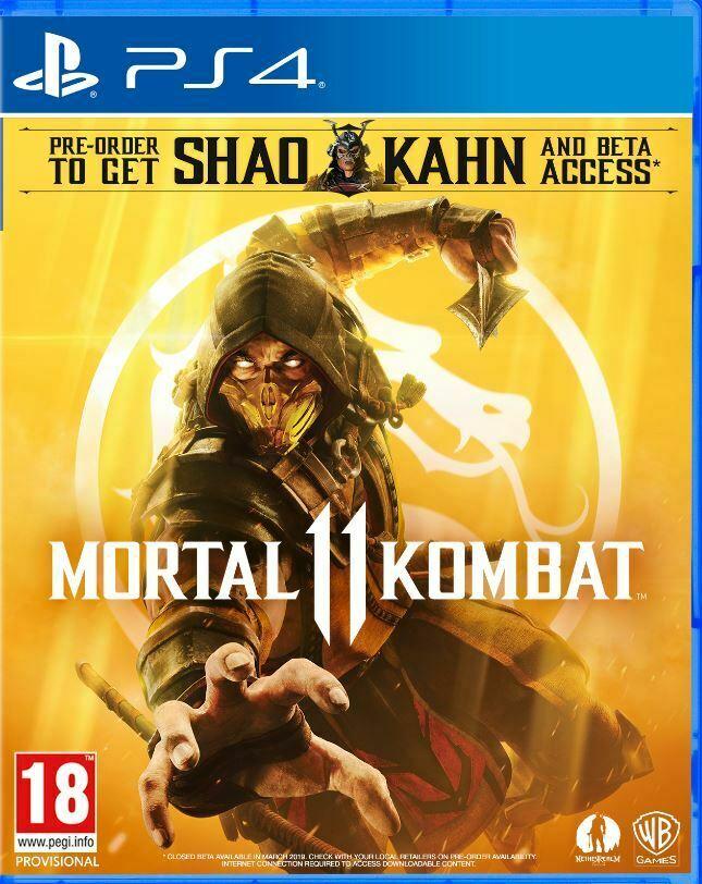 Mortal Kombat 11 (PS4) - £22.91 delivered @ The Game Collection Outlet eBay