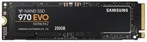 970 EVO SSD NVMe M.2 V-NAND Solid State Drive, 250GB -  MZ-V7E250BW £76.08 at CPC Farnell
