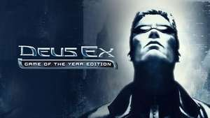 Deus Ex: Game of the Year Edition (PC Steam Key) 64p @ Fanatical