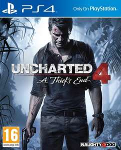 Uncharted 4: A Thief's End PS4 (Bundle Edition) £8.99 @ Coolshop
