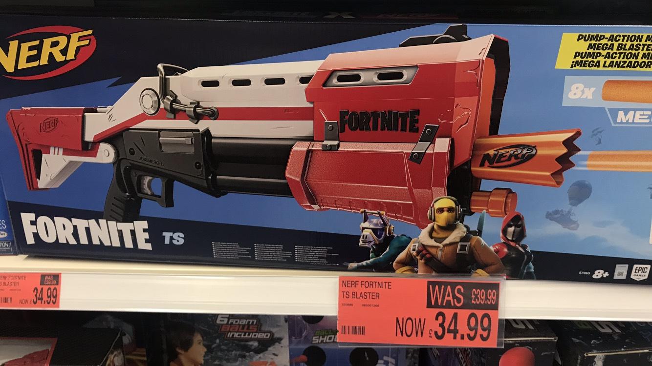 Nerf Fortnite TS Blaster £34.99 in B&M Retail Lothian