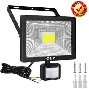 CLY 30W Security Lights, LED Floodlight with Motion Sensor £16.99 Sold by CLY- tools EU and Fulfilled by Amazon (+£4.49 Non-prime)