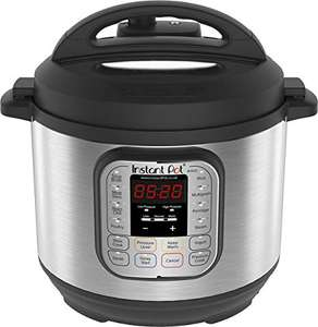 Instant Pot Duo V2 7-in-1 Electric Pressure Cooker, 6 Qt, 5.7L 1000 W, Brushed Stainless £69.99 at Amazon Treasure Truck