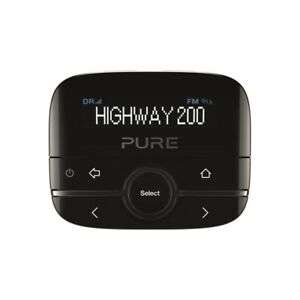 Pure Highway 200 In-Car DAB/DAB+ Radio Adapter with Music via Aux-In - Black £29.99 at yoltso eBay