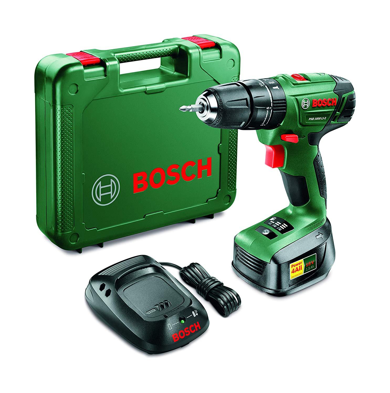 Bosch PSR 1800 18V Cordless Power Drill Set for £46.74 @ Robert Dyas (Free click+collect)