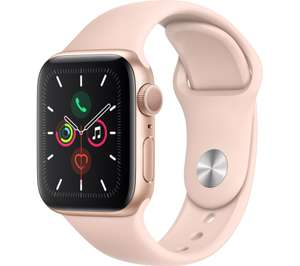 Up to £75 Off a New Series 5 Apple Watch when you Trade in your old working Apple Watch - 40MM Sportsband £324 @ Currys