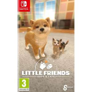 Little Friends Dogs & Cats - Nintendo Switch £22.95 @ The Game Collection