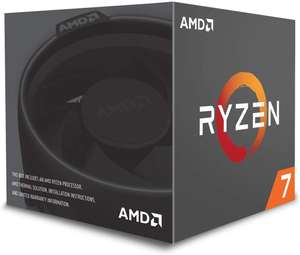 AMD Ryzen 7 1700 Processor with Wraith Spire RGB Cooler - YD1700BBAEBOX - £118.99 @ Dispatched from and sold by CCL Computers