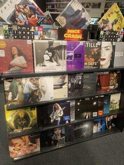 HMV Vinyl Price Crash Sale - Vinyl from £4.99 In Store (Inc. Limited / Colour LPs)