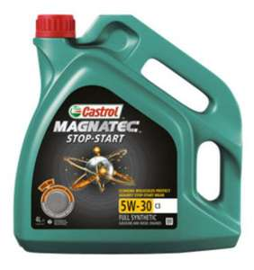 Castrol oil - all on offer at Asda In store and online ( MAGNATEC/ EDGE/GTX AND MORE)
