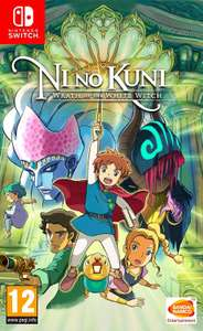 Ni No Kuni Wrath of the White Witch (Switch) £34.81 @ Thegamecollectionoutlet/ebay