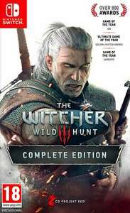 The Witcher III Complete Edition - Nintendo switch £39.82 at thegamecollectionoutlet eBay