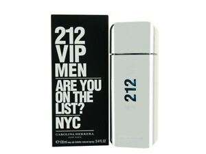 Carolina Herrera 212 VIP Eau de Toilette 100ml Spray For Him Homme Mens EDT £45.86 Delivered @ perfume_shop_direct @ eBay