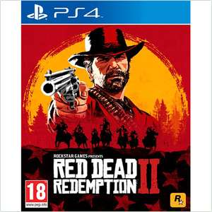 Red Dead Redemption 2 PS4 (Pre-owned) £24.99 at GAME