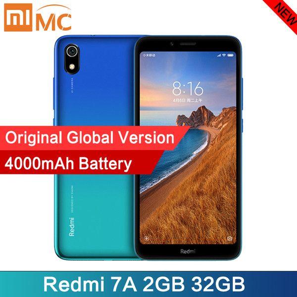 Global Version Xiaomi Redmi 7A 2GB 32GB Smartphone £58.38 With Code @ Dhgate xiaomiyoupin Store